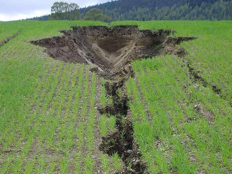 Защита почвы от эрозии