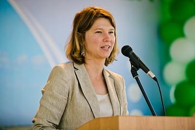 Оксана Лут приняла участие в открытии крупного молочного комплекса в Оренбургской области
