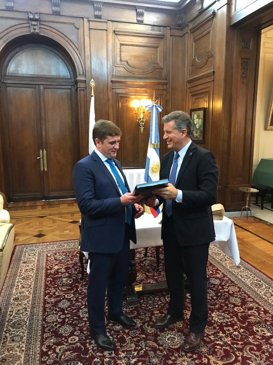 Россия и Аргентина заключили соглашение о сотрудничестве  в области рыбного хозяйства и аквакультуры
