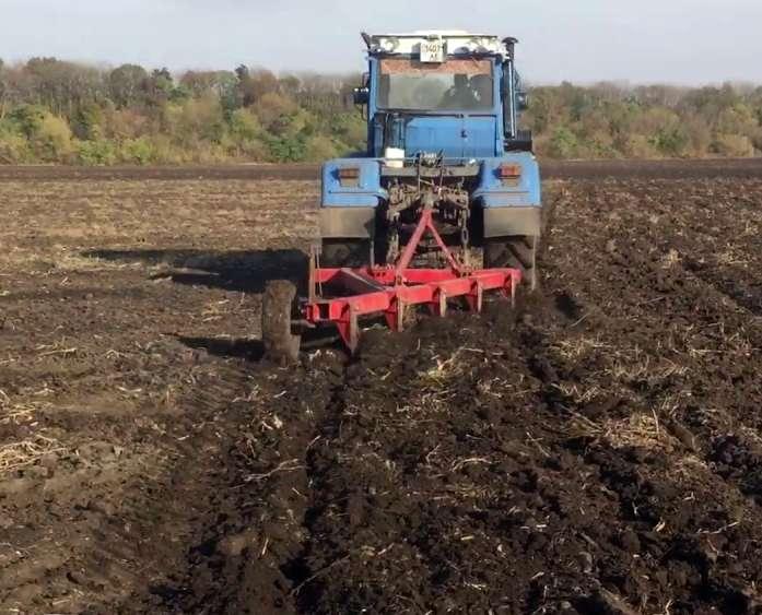 Глубокое рыхление переуплотненных почв