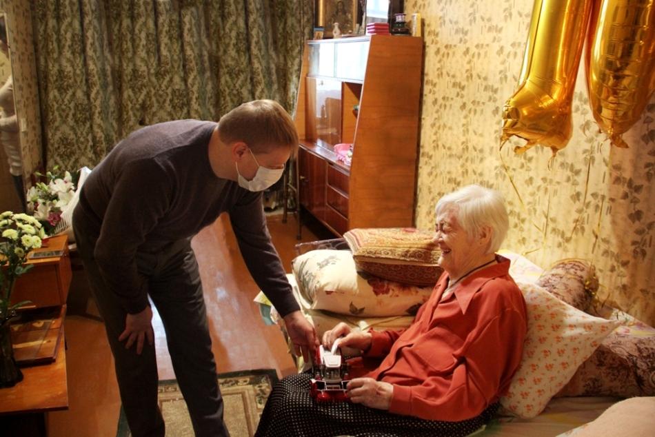 100-летний юбилей ветерана Ростсельмаш